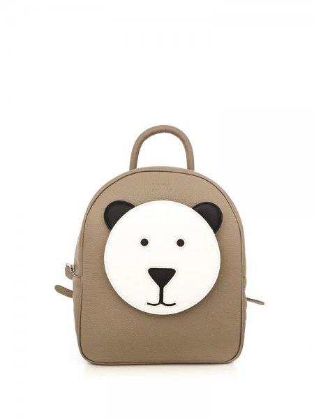 Beige Ami Bear Backpack