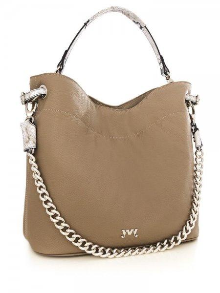 Beige Cecile Shoulder Bag