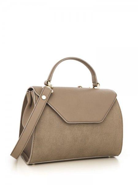 Beige Maria Shoulder Bag