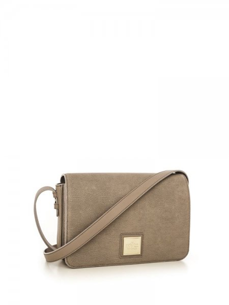 Beige Matron Shoulder Bag