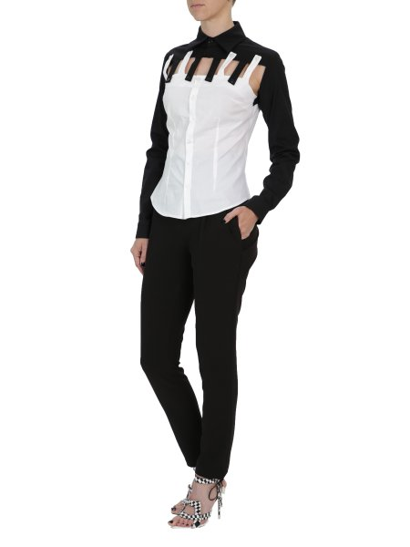 Black & White Tailored Shirt