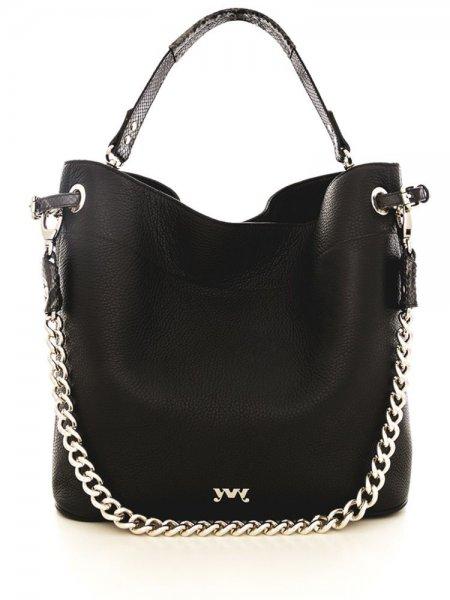 Black Cecile Shoulder Bag