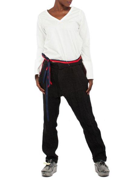 Black Jute Pants
