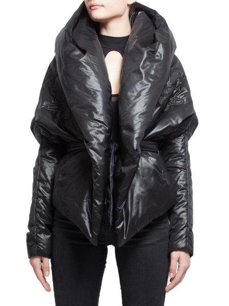 Black Shiny Jacket