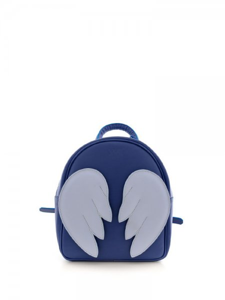 Blue Ami Backpack with Wings
