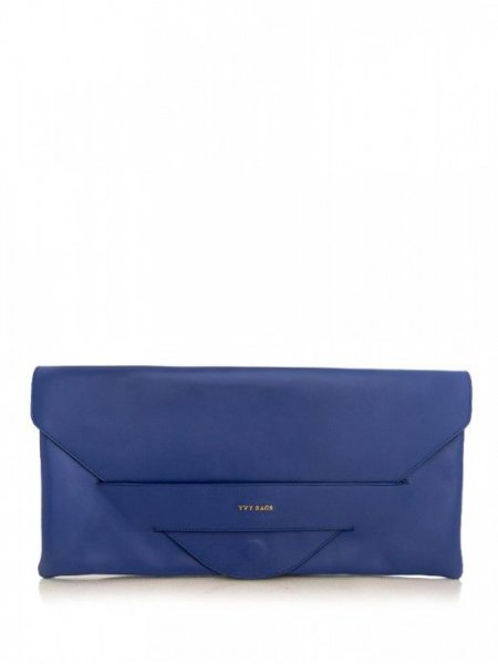 Blue Carmen Envelope