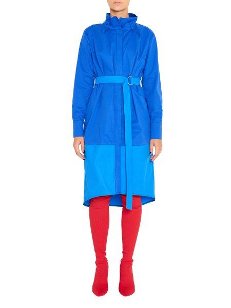 Blue Dress with Detachable Belt