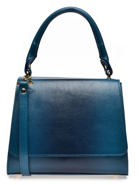 Blue Indigo Handcrafted Mini Bag