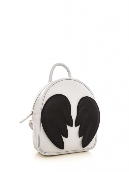 Brown Ami Backpack with Black Wings