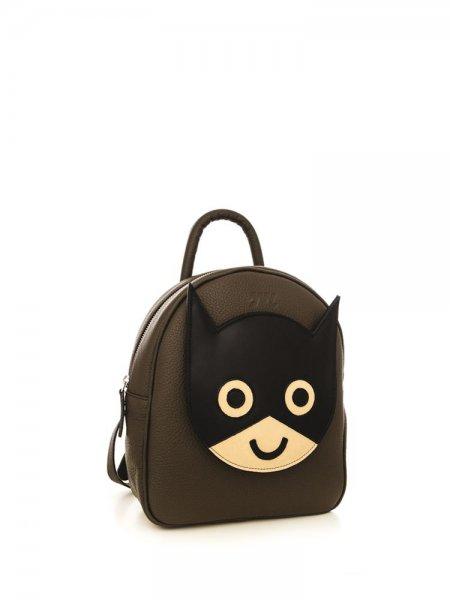 Brown Ami Batman Backpack