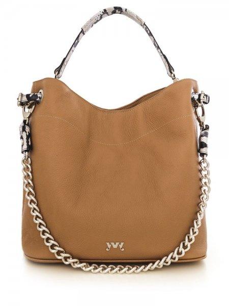 Brown Cecile Shoulder Bag