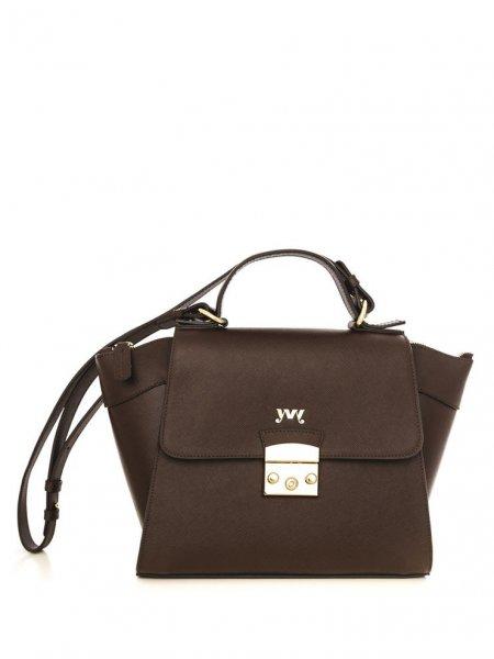 Brown Cinderella Shoulder Bag