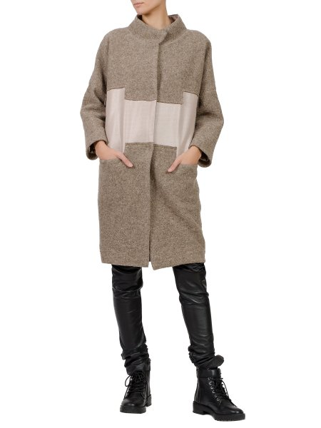 Brown Long Overcoat