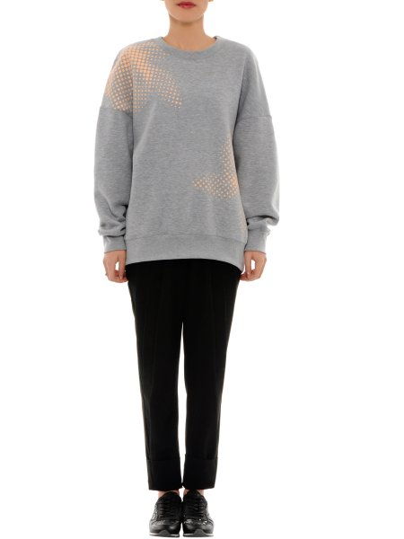 Bubble Grey Sweatshirt