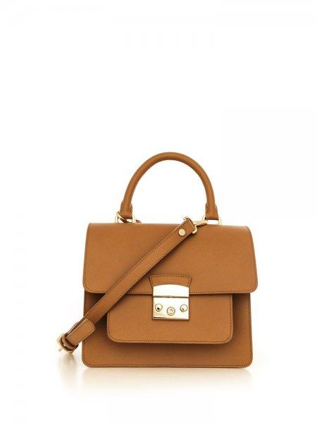 Camel Clemence Bag