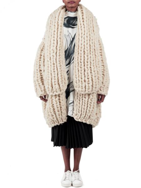 Chunky Giant White Coat