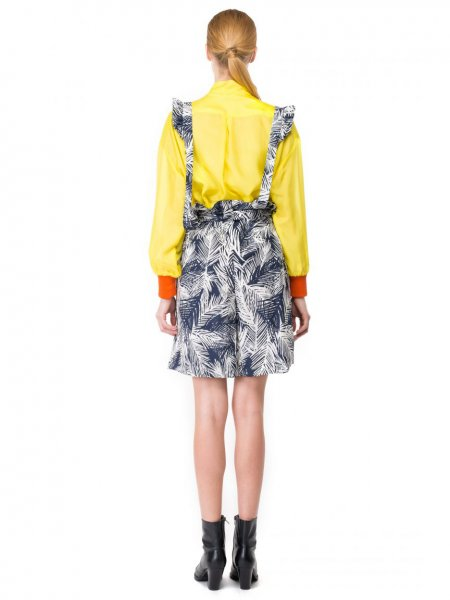 Citron Silk Shirt