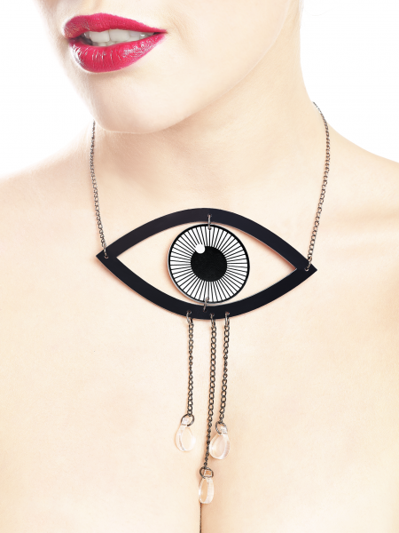 Crying Eye Necklace