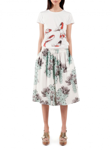 Digitally Printed Viscose Culottes