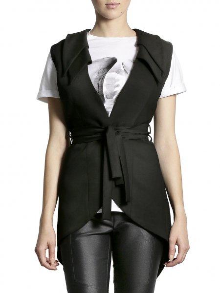 Double Collar Cotton Vest