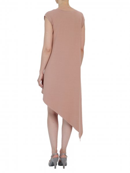 Dusty Pink Midi Dress
