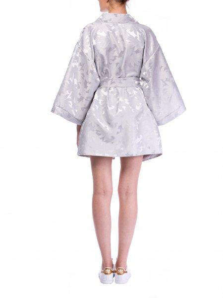 Gray Kimono Jacket