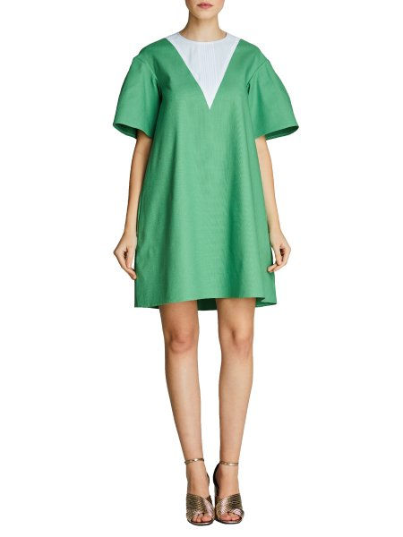 Greenery Loose Fit Dress