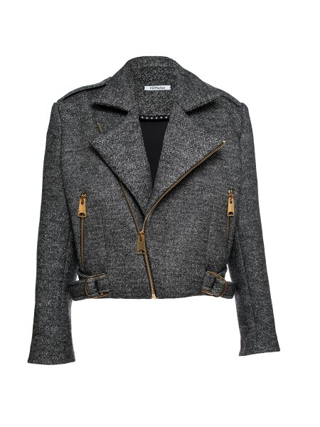Grey Woolen Jacket