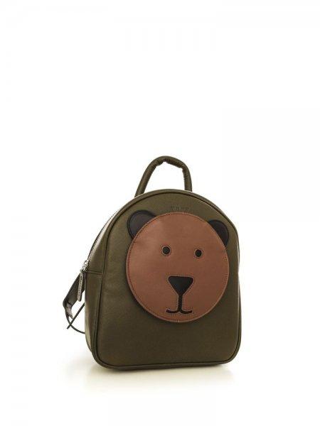 Khaki Ami Brown Bear Backpack