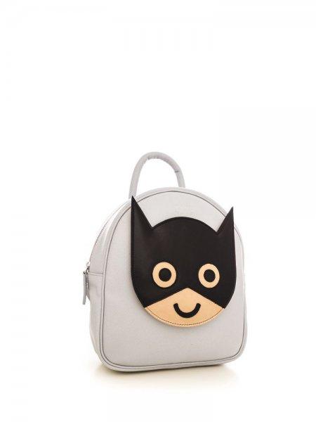 Light Grey Ami Batman Backpack