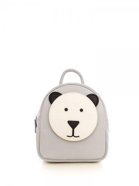 Light Grey Ami Bear Backpack