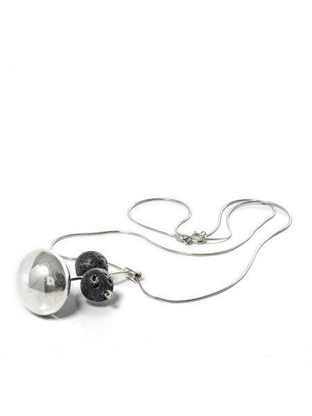 Line-Sphere Necklace