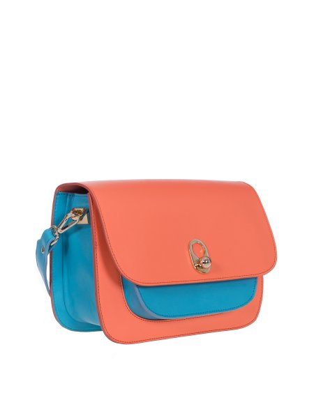 Orange Shoulder Mini Bag