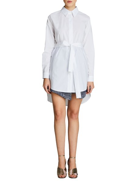 Oversized Collar Shirt