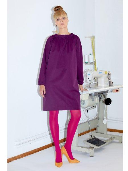 Purple Loose Fit Dress