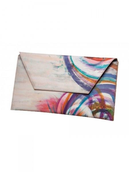 Rainbow Waves Envelope Bag