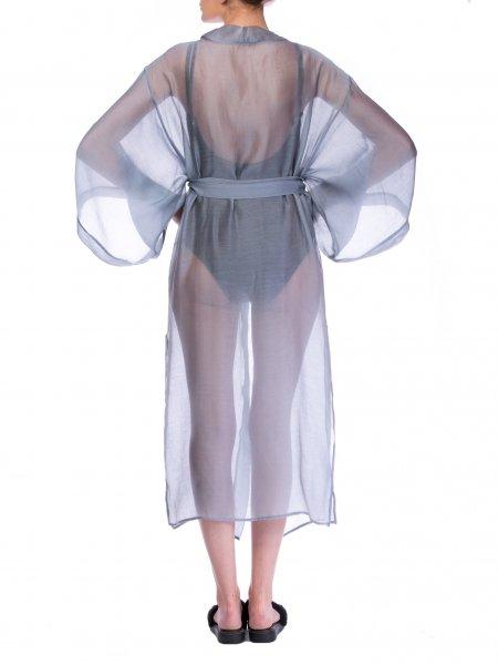 Sheer Organza Kimono