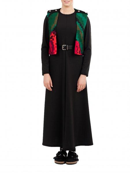 Short Traditional Wool Vest