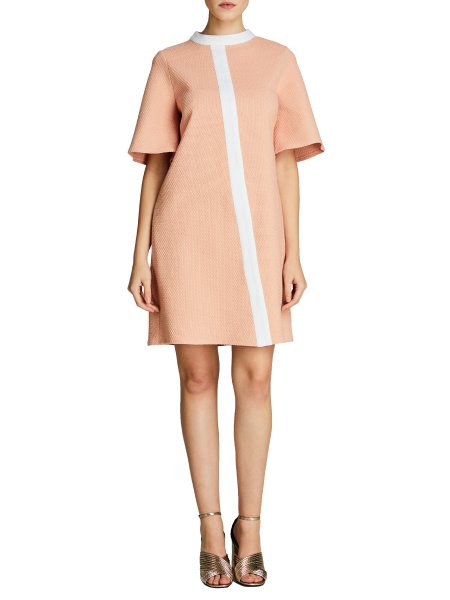 Soft Pink Cotton Dress