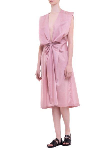Soft Pink Silk Dress