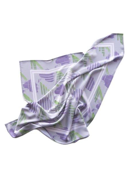 Soft Purple Printed Scarf