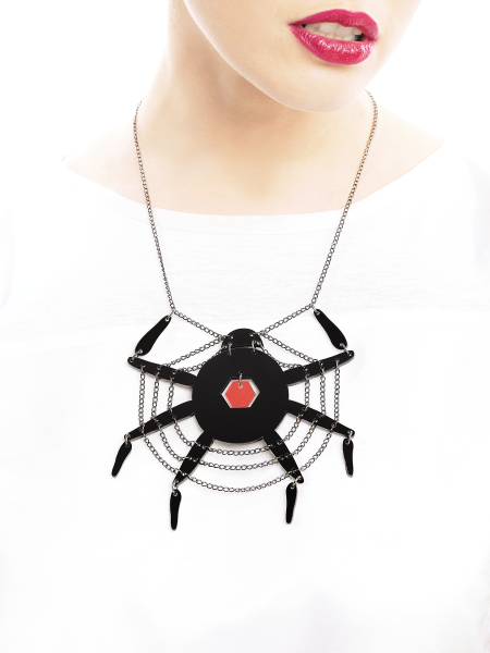 Spiderweb Necklace