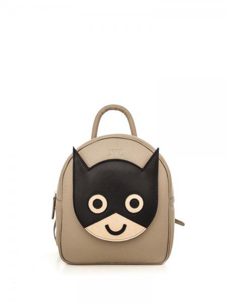 Taupe Ami Batman Backpack
