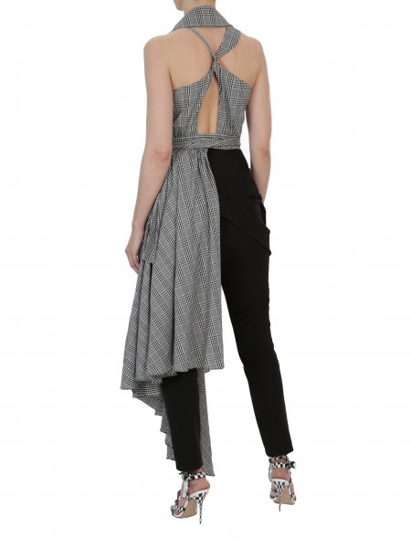 V-Neck Asymmetric Vest